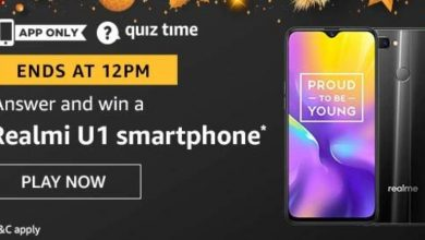 Realmi UI smartphone Amazon Quiz