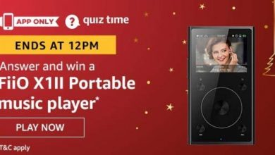 Photo of Play Amazon Quiz And Win FiiO X1-II Portable Music Player – 11 Jan 2020