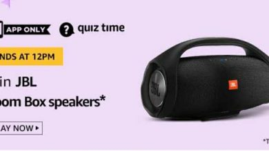 Photo of Amazon Quiz 19 May 2020 Answers: Play And Win JBL Boom Box Speakers