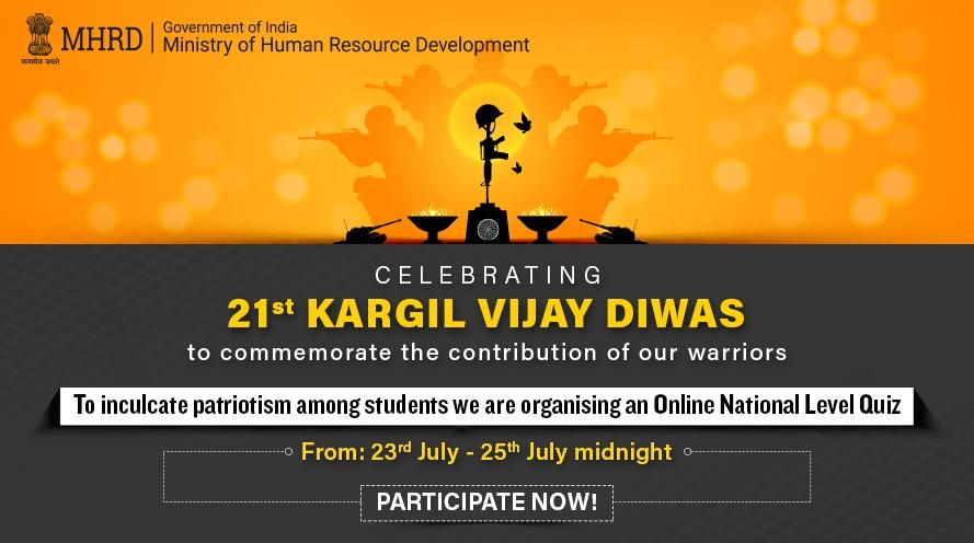 Kargil Vijay Diwas quiz