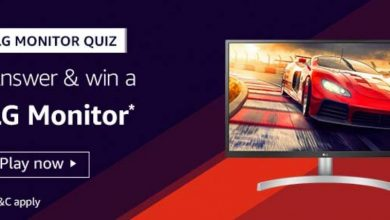 Photo of Amazon LG Monitor Quiz Answers : Play And Win LG Monitor (3 Prizes)