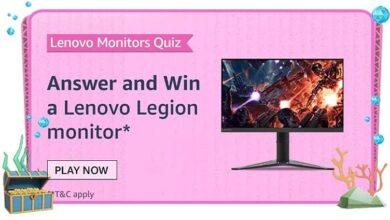 Lenovo Legion Quiz Answers