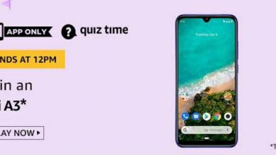 Photo of Amazon Quiz 10 Jun 2020 Answers: Play And Win Mi A3 Mobile