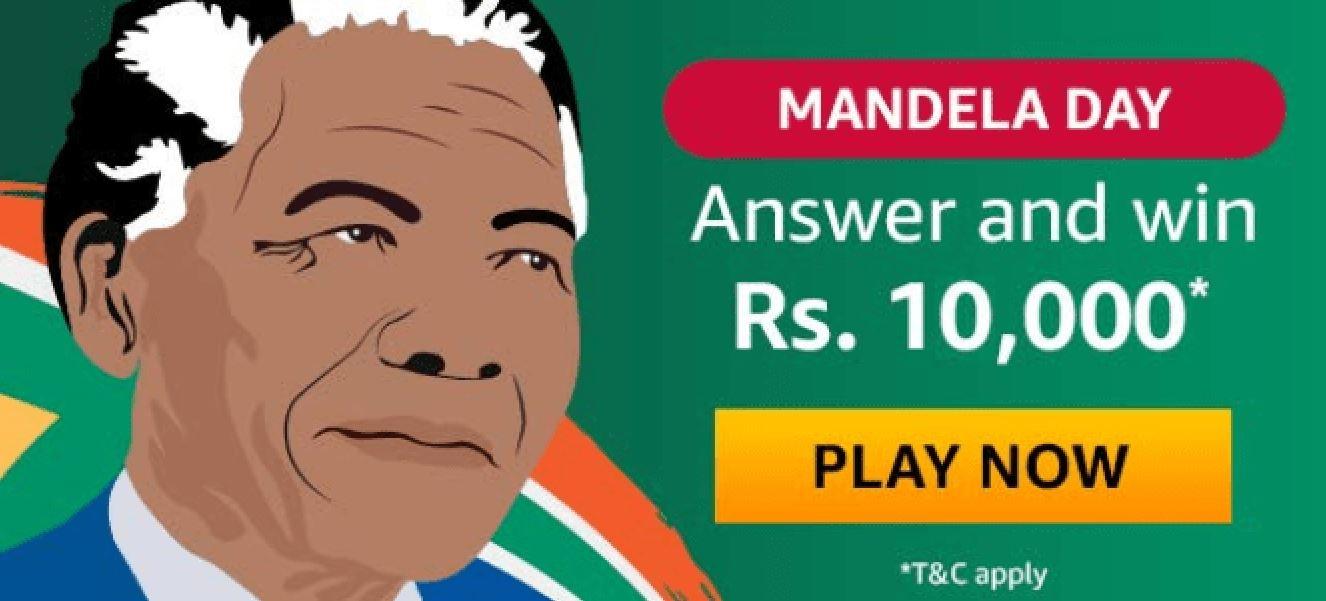 Mandela Day Quiz Answers