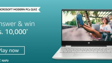 Photo of Amazon Microsoft Modern PCs Quiz Answers- Play and Win 10,000 Amazon Pay Balance