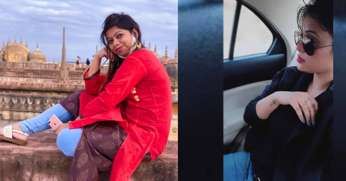 Riya Roy and Jaypanee Singh Rajpoot