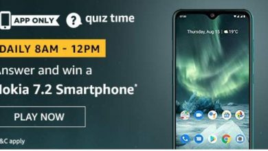Nokia 7.2 Amazon Quiz