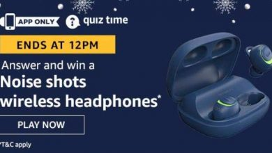 Photo of Play Amazon Quiz And Win Nose Shot Wireless Headphones – 04th Jan 2020