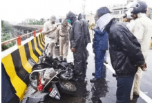 Photo of Nurse Gets Killed after SUV Hits her Two Wheeler at Sadar Flyover
