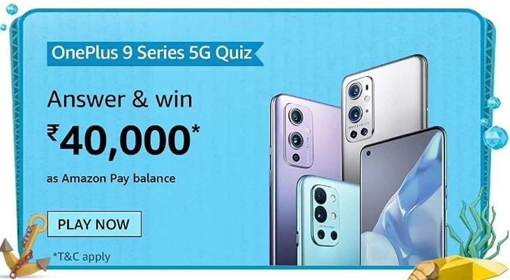 OnePlus 9 Series 5G Quiz Answers