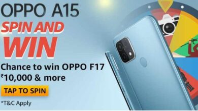 Oppo A15 Spin And Win Quiz Answers