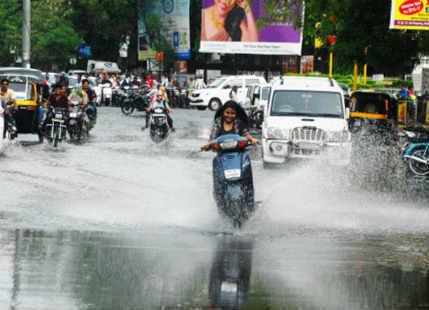 Heavy Rain In Nagpur
