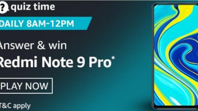 Photo of Amazon 23rd Sep 2020 Quiz Answers: Play And Win Redmi Note 9 Pro Mobile