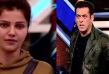 Photo of Bigg Boss 14 update: Salman Khan scolds Rubina Dilaik over weekend ka vaar