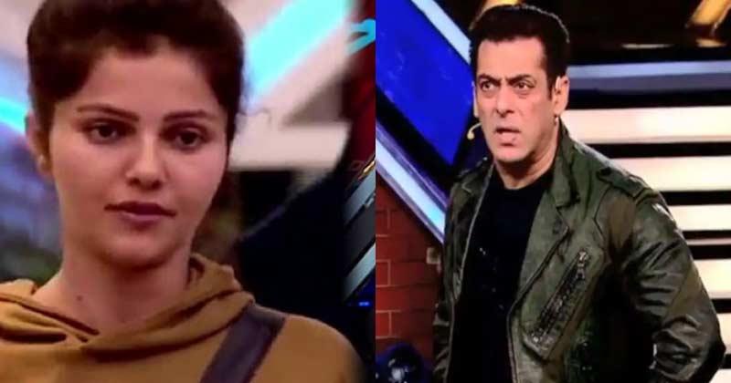 Salman Khan Angry on Rubina Dilaik bigg boss 14