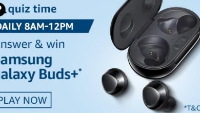 Photo of Amazon 28th Aug 2020 Quiz Answer: Play And Win Samsung Galaxy Buds+