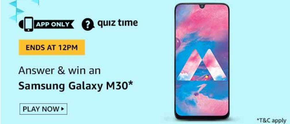 Samsung Galaxy M30 Mobile