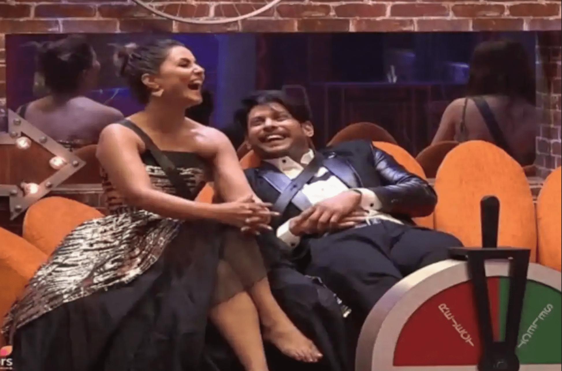 Hina khan and Sidharth shukla bigg boss 14