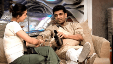 Photo of Bigg Boss 14 update: Eijaz wears Pavitra's clothes for immunity task