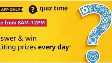Amazon Autumn Jackpot September Edition Quiz Answers Win 10000