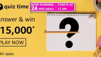 Amazon Daily Quiz Answers 19th May 2021