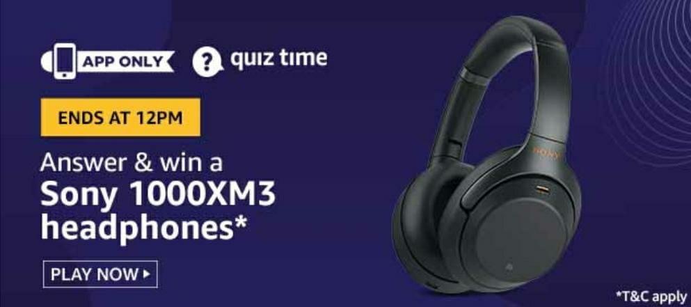 Sony 1000XM3 Headphones
