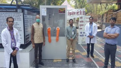 Photo of City Doctor Vikas Mahatme Makes a Safety Gadget for COVID 19 Testing