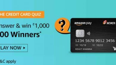 The Credit Card Quiz Answers