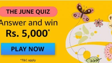 Amazon The June Quiz