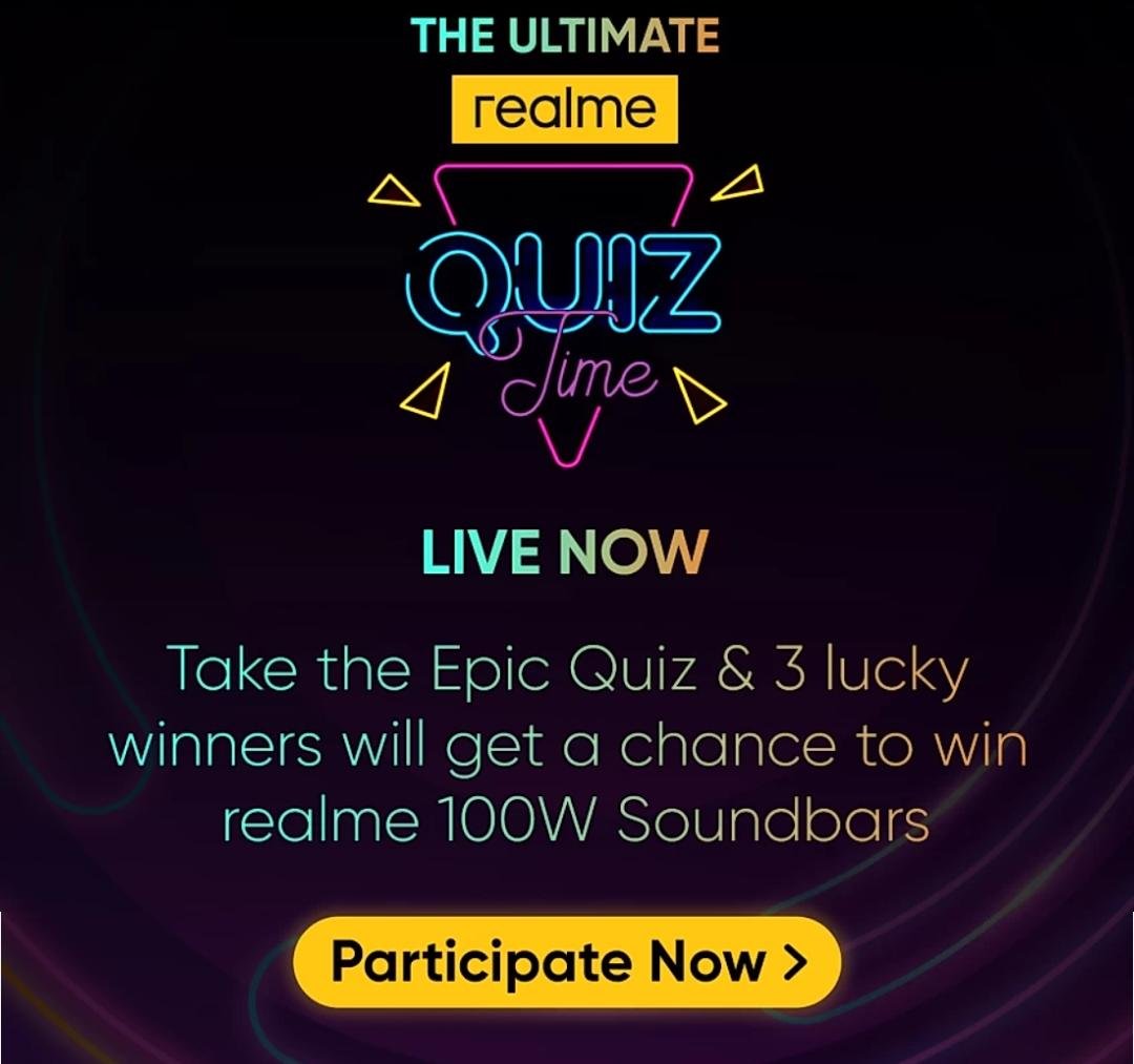 The Ultimate Realme Quiz Time Answers