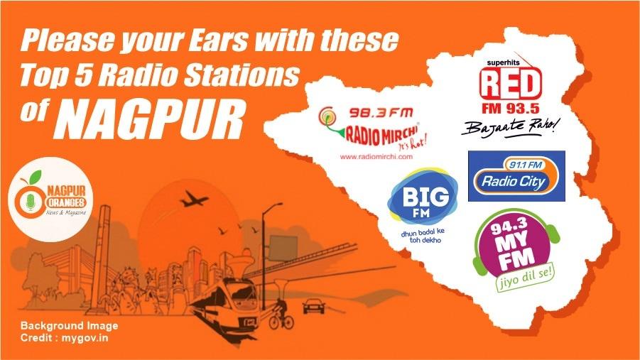 Top 5 Radio stations of Nagpur