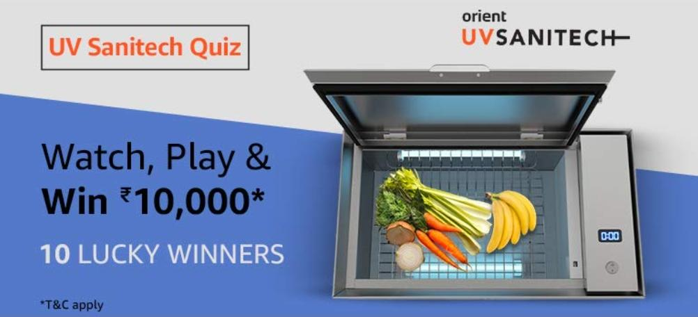 UV Sanitech Quiz Answers