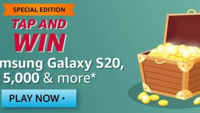 Tap And Win Samsung Galaxy S20