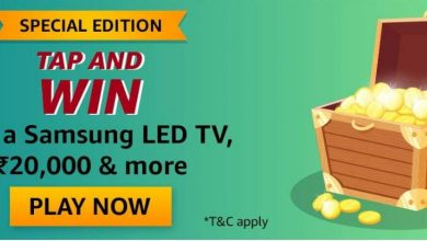 Photo of Amazon Tap And Win Quiz Answers: Play And Win Samsung LED TV, 20,000 Rs And More