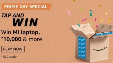 Amazon Prime Day Special Tap And Win Quiz Answers