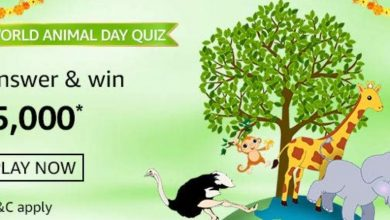 Amazon World Animal Quiz