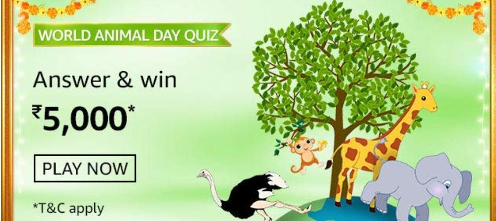 Amazon World Animal Quiz