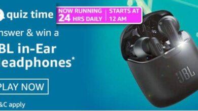 Win JBL in-Ear Headphones