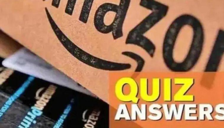 Today's Amazon Quiz Answers