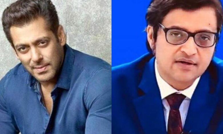 Salman khan on Arnab Goswami
