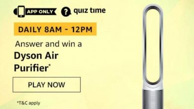 amazon Quiz 7th Dec Answer