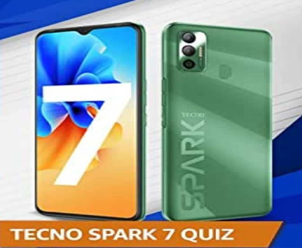 Amazon Tecno Spark 7 Quiz Answers