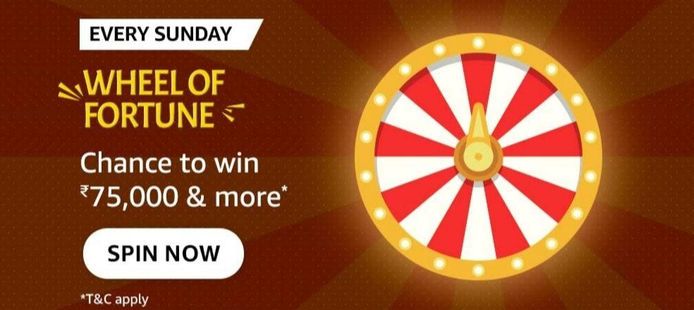 amazon wheel of fortune sunday quiz answers