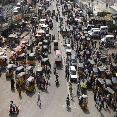 traffic jam stalled