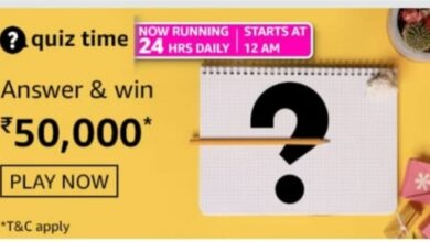 Amazon Daily Quiz Answers 2 September 2021