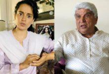 Kangana Ranaut and Javed Akhtar