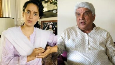 Kangana Ranaut and Javed Akhtar
