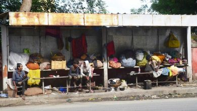 Photo of Nagpur Bus Stands now the shelter for beggars