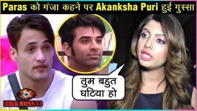 "Photo of Paras's girlfriend Anaksha Puri blasts at Asim on calling Paras ""Ganja"""