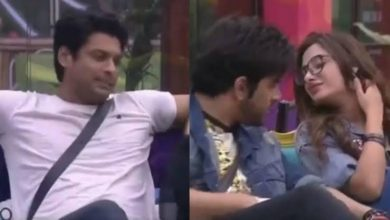 "Photo of Siddharth Shukla Remarked Mahira Sharma's Love Bite On Her Neck, Shefali Also Supported Him saying, ""It's 2,000% a love bite"""